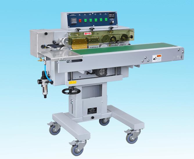 Horizontal Band Sealer、band sealer、band sealing、sealing packaging、Showy Industrial CO., LTD